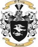 O'Tracy Family Crest from Ireland