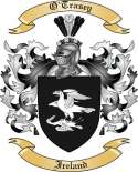 O'Trasey Family Crest from Ireland