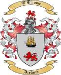 O'Twome Family Coat of Arms from Ireland