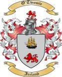 O'Twomie Family Crest from Ireland