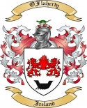 OFlaherty Family Crest from Ireland