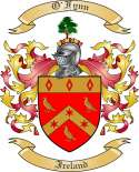 OFynn Family Crest from Ireland