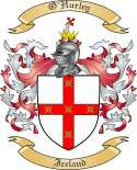 OHurley Family Coat of Arms from Ireland