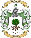 O Connor Family Crest from Ireland2