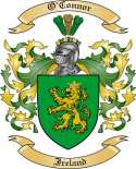 O Connor Family Crest from Ireland