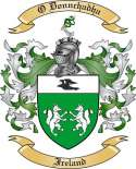 O Donnchadha Family Crest from Ireland
