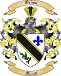 Ochoa Family Crest from Spain