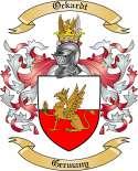 Ockardt Family Coat of Arms from Germany