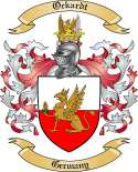 Ockardt Family Crest from Germany