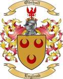 Odehull Family Crest from England