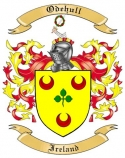 Odehull Family Crest from Ireland