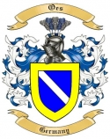 Oes Family Coat of Arms from Germany