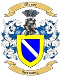 Oeser Family Crest from Germany