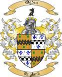 Ogden Family Crest from England