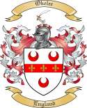 Okelee Family Coat of Arms from England
