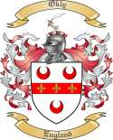 Okly Family Coat of Arms from England