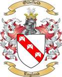 Oldefield Family Crest from England