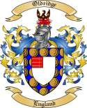 Oldridge Family Crest from England