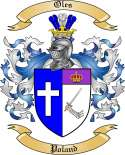 Oles Family Coat of Arms from Poland