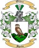 Oliver Family Crest from Spain2