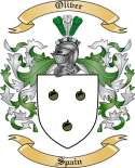Oliver Family Crest from Spain