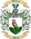 Olivera Family Crest from Spain2