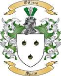 Olivera Family Coat of Arms from Spain