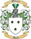 Oliverez Family Crest from Spain