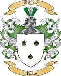 Olivero Family Coat of Arms from Spain