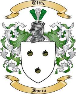 Olivo Family Crest from Spain