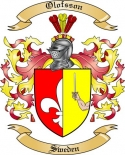Olofsson Family Crest from Sweden