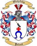 Olshefsky Family Coat of Arms from Poland