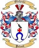 Olsheski Family Coat of Arms from Poland