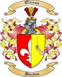 Olsson Family Coat of Arms from Sweden