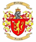 Omdahl Family Coat of Arms from Norway