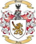 Onesti Family Coat of Arms from Italy