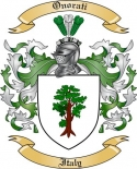 Onorati Family Coat of Arms from Italy