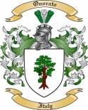 Onorato Family Coat of Arms from Italy