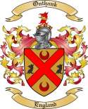 Onthank Family Coat of Arms from England