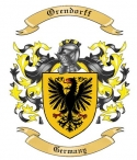 Orendorff Family Crest from Germany