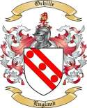 Orhille Family Crest from England
