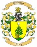 Orlando Family Coat of Arms from Italy