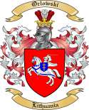 Orlowski Family Coat of Arms from Lithuania