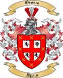 Orosco Family Crest from Spain