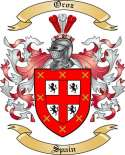 Oroz Family Crest from Spain