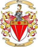 Orre Family Crest from Scotland
