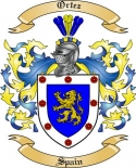Ortez Family Coat of Arms from Spain2