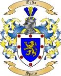 Ortiz Family Crest from Spain2