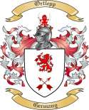 Ortlepp Family Coat of Arms from Germany