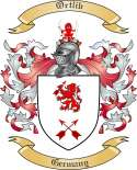 Ortlib Family Coat of Arms from Germany